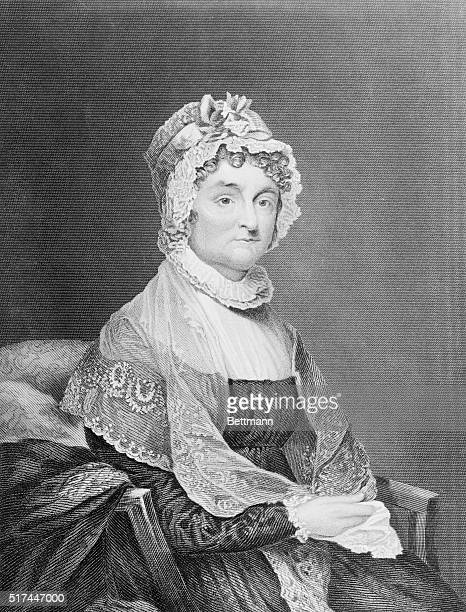 Wife of one President and mother of another her friends objected to her marrying of john Adams since he was Only a lawyer and not good enough for a...