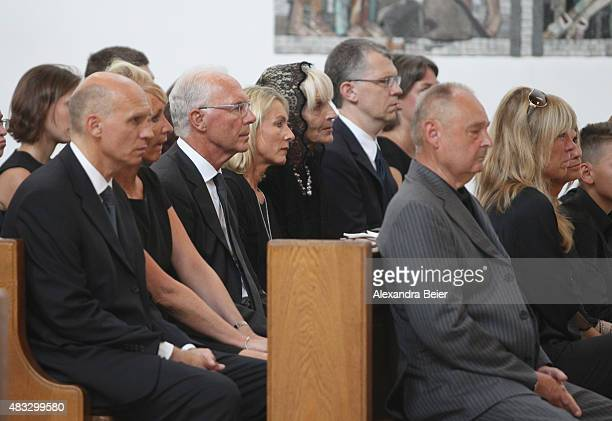 Wife of Stephan Beckenbauer Nicole and Thomas Beckenbauer and his wife Ilona Franz Beckenbauer and his wife Heidi Brigitte Beckenbauer Michael...