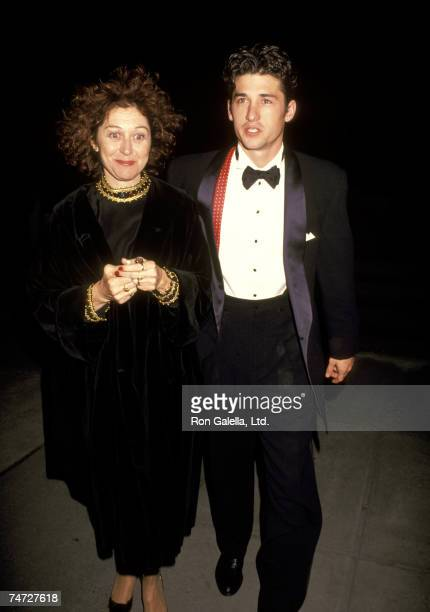 Wife Rocky Parker and Patrick Dempsey at the Ziegfeld Theater in New York City NY