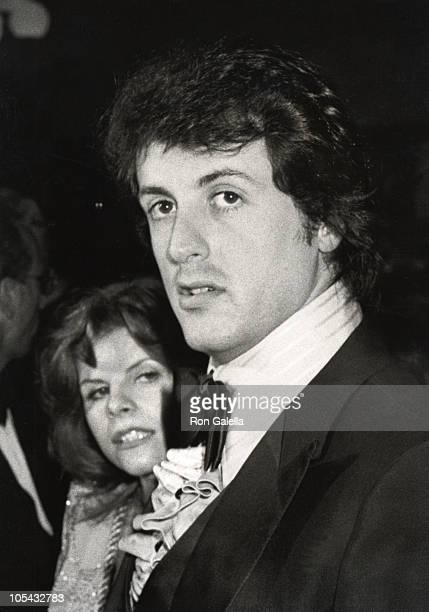 Wife Sasha Czack Stallone and Sylvester Stallone during Premiere of FIST at ABC Entertainment Center in Los Angeles California United States
