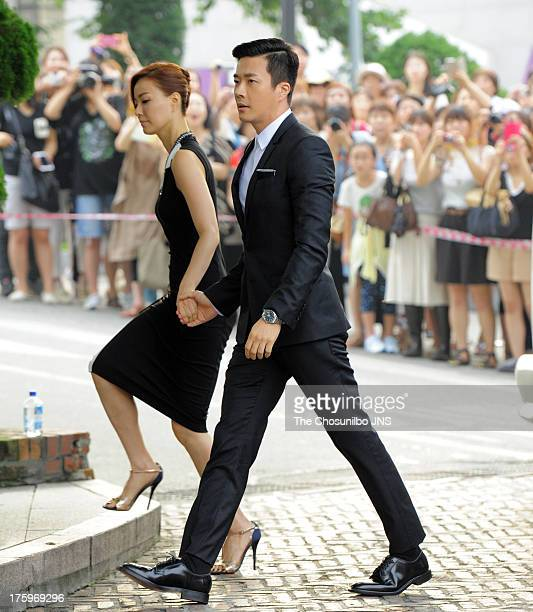 Kwon Sang Woo Wife Stock Photos And Pictures