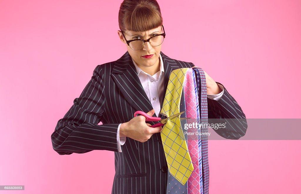 Wife,girlfriend revenge : Stock Photo