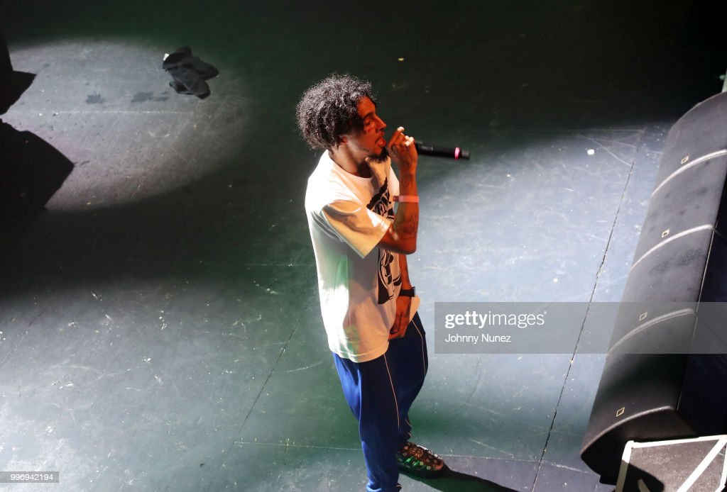 Wifisfuneral performs at the XXL Freshman Class 2018 concert at Terminal 5 on July 11, 2018 in New York City.