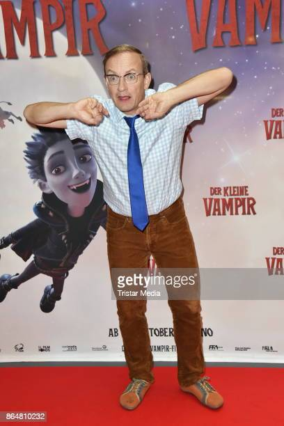 Wigald Boning attends the 'Der kleine Vampir' premiere on October 21 2017 in Berlin Germany