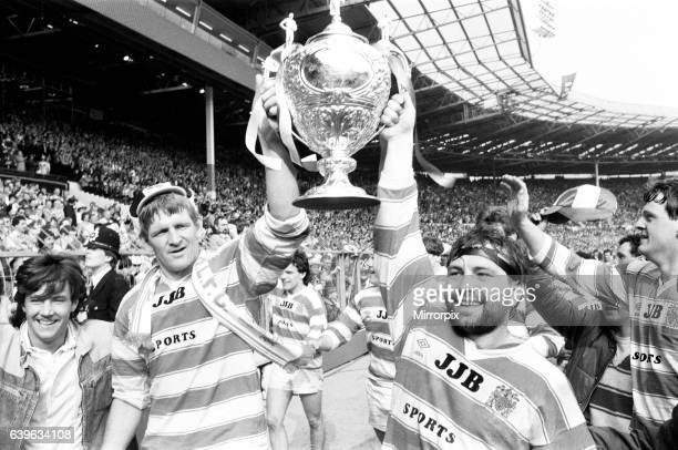 Wigan 28-24 Hull, Rugby League, Challenge Cup Final, Wembley Stadium, London, Saturday 4th May 1985.