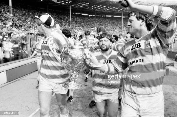 Wigan 2824 Hull Rugby League Challenge Cup Final Wembley Stadium London Saturday 4th May 1985