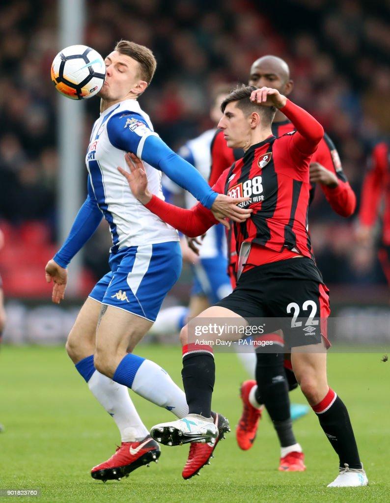 AFC Bournemouth v Wigan Athletic - FA Cup - Third Round - Vitality Stadium : News Photo