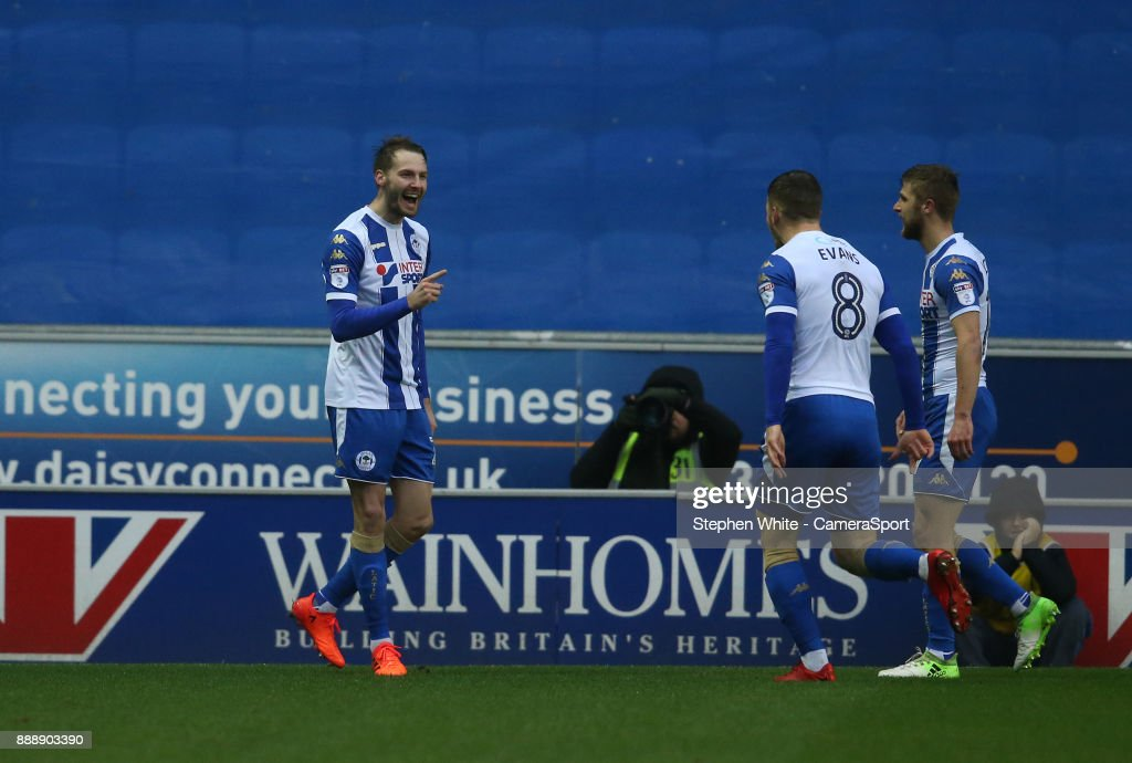 Wigan Athletic v Fleetwood Town - Sky Bet League One