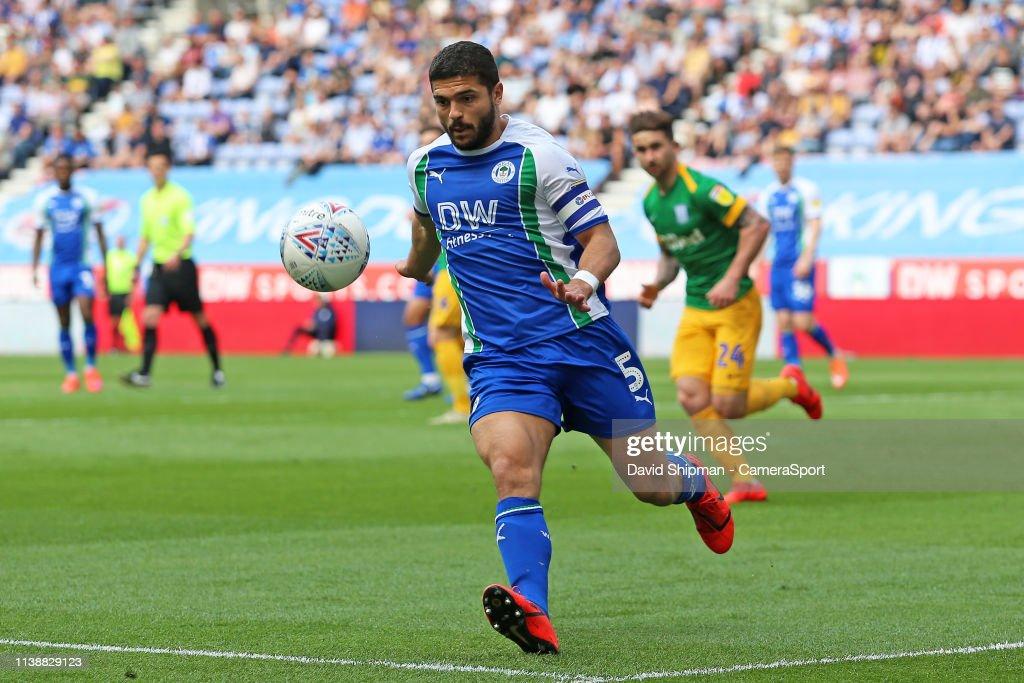 Wigan Athletic v Preston North End - Sky Bet Championship : News Photo