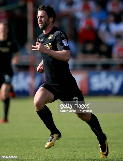 Wigan Athletic's Will Grigg during the Sky Bet League One match at Highbury Stadium Fleetwood
