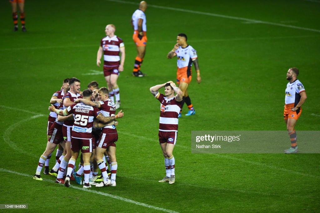 Wigan Warriors v Castleford Tigers - BetFred Super League Semi Final : News Photo