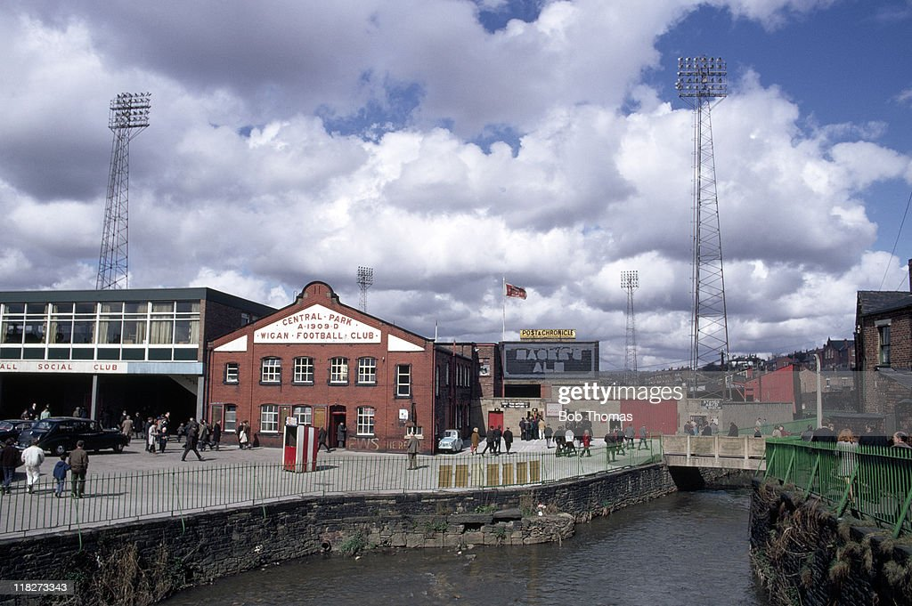 Wigan Rugby League Ground - Central Park : News Photo