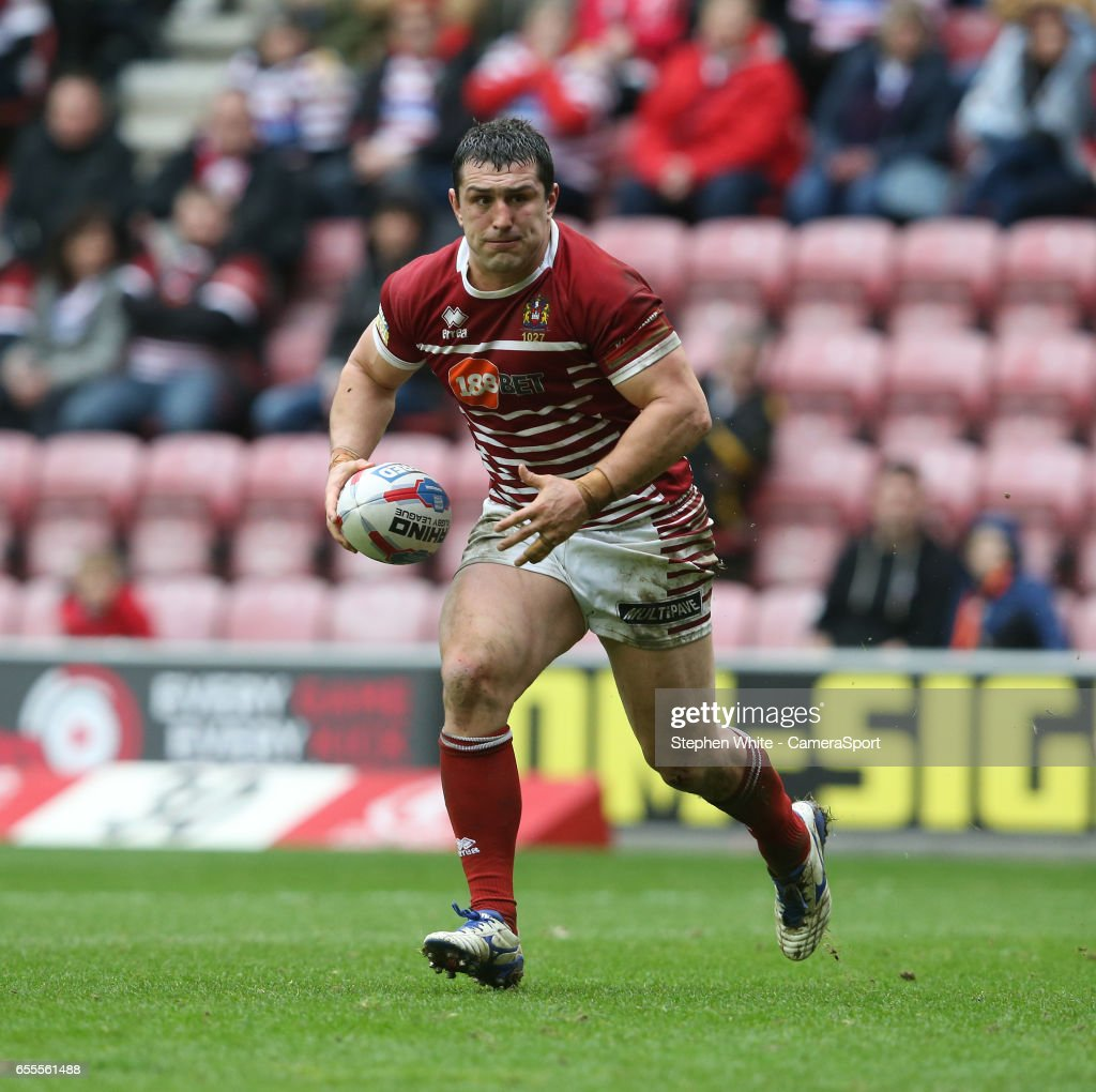 Wigan Warriors v Huddersfield -Betfred Super League