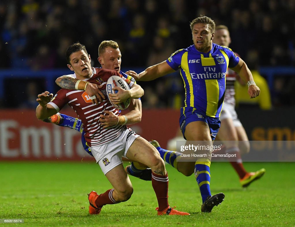 Warrington Wolves vs Wigan Warriors - Betfred Super League : News Photo