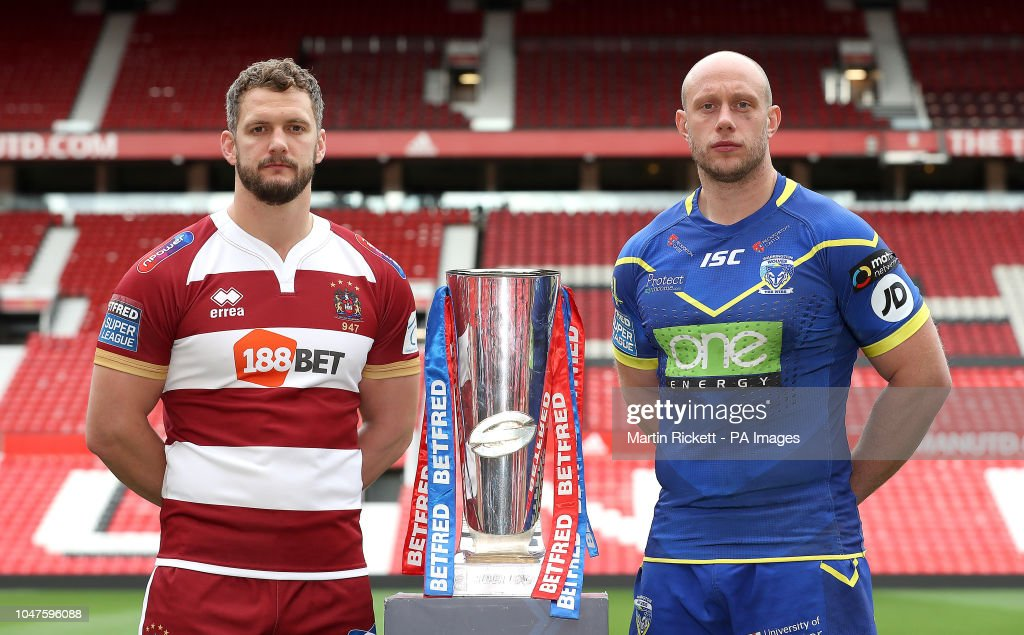Betfred Super League Grand Final Press Conference - Old Trafford : News Photo
