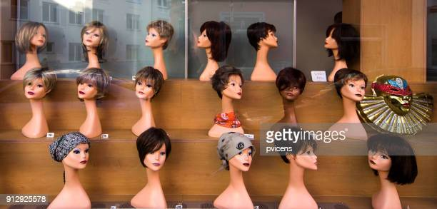 wigs - wig stock pictures, royalty-free photos & images