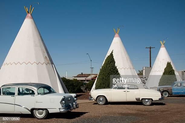 Wigwam Motel on Route 66 in Holbrook Arizona