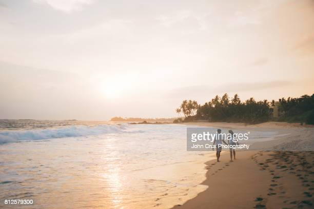 wijaya beach couple - honeymoon stock pictures, royalty-free photos & images