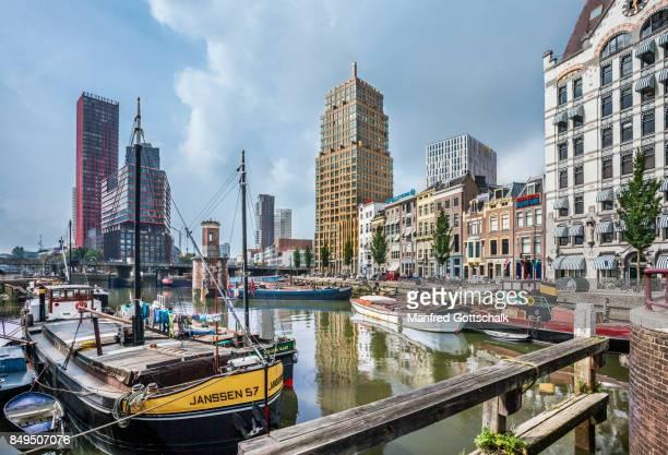 Wijnhaven and Witte Huis Rotterdam