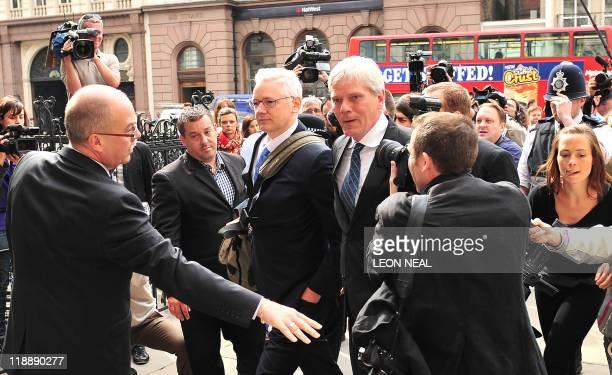 Wikileaks founder Julian Assange arrives at the High Court in central London on July 12 2011 WikiLeaks founder Julian Assange arrived at the High...