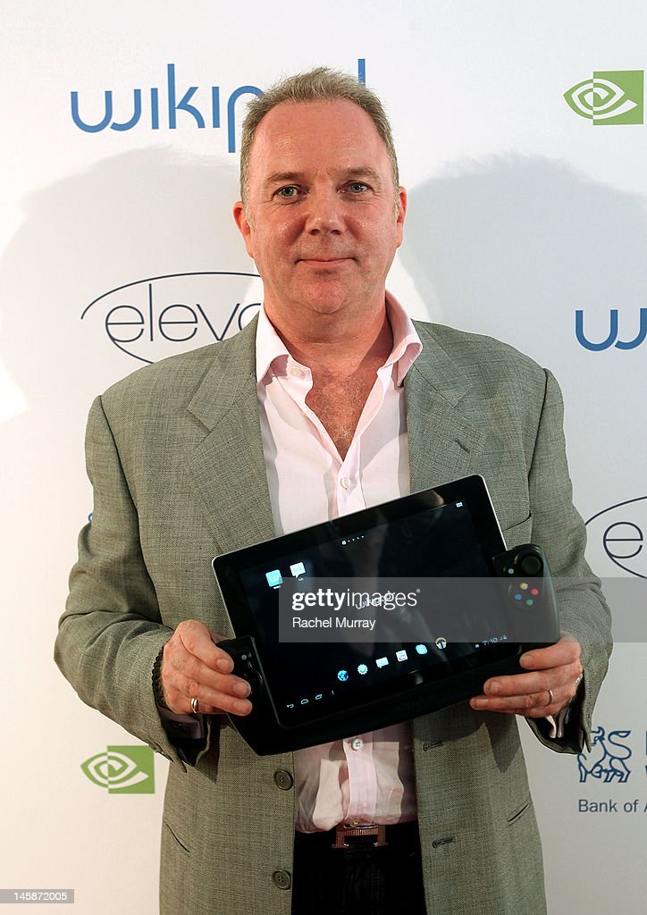 WikiPad President of Sales, Fraser Townley arrives at the VIP red carpet cocktail party hosted by WIKIPAD and NVIDIA as part of the celebrations for E3, 2012 held at Elevate Lounge on June 6, 2012 in Los Angeles, California.