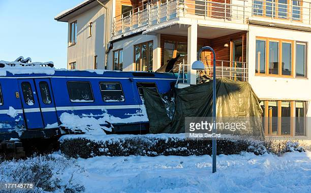 The 2013 Saltsjöbanan train crash occurred in early morning hours of 15 January 2013 A passenger train started to move without authorization only a...