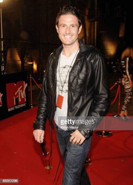 Wil Anderson arrives at the MTV Australia Awards 2008 at the Australian Technology Park Redfern on April 26 2008 in Sydney Australia This year's...