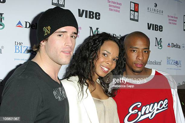 Wil Horneff Cherie Johnson and Antwon Tanner during 11th Annual Palm Beach International Film Festival 7eventy 5ive at Muvico in Palm Beach Florida...