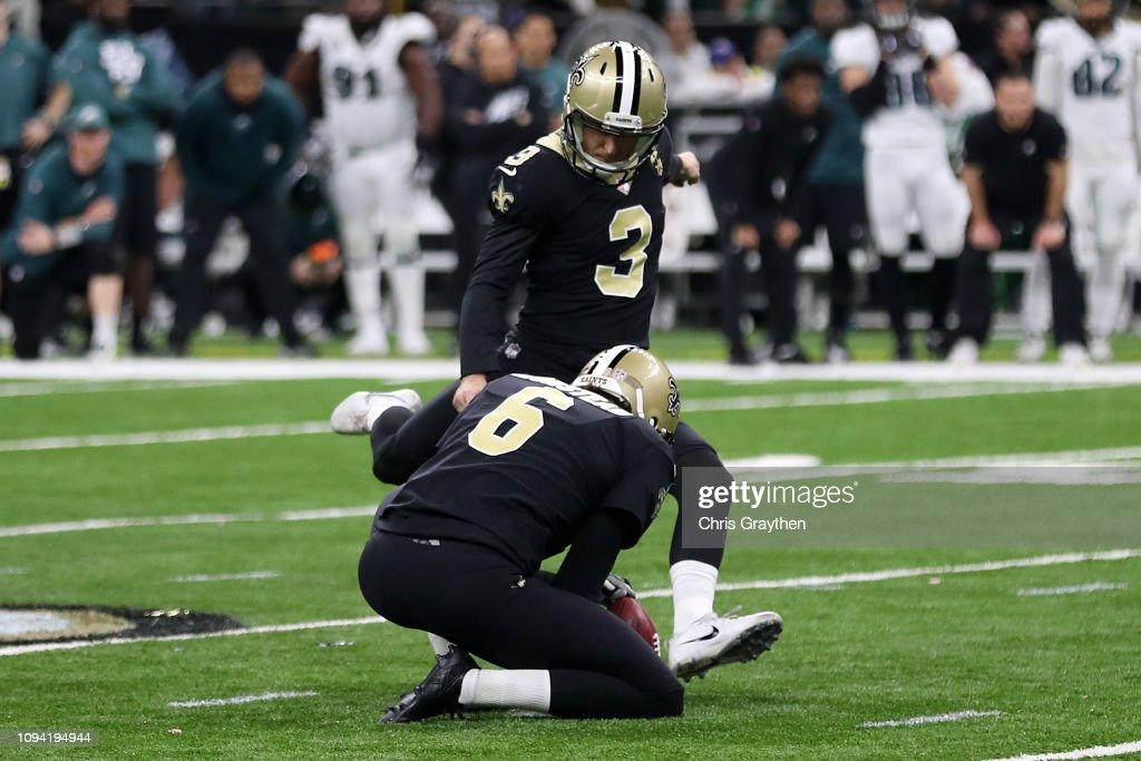 Divisional Round - Philadelphia Eagles v New Orleans Saints : ニュース写真