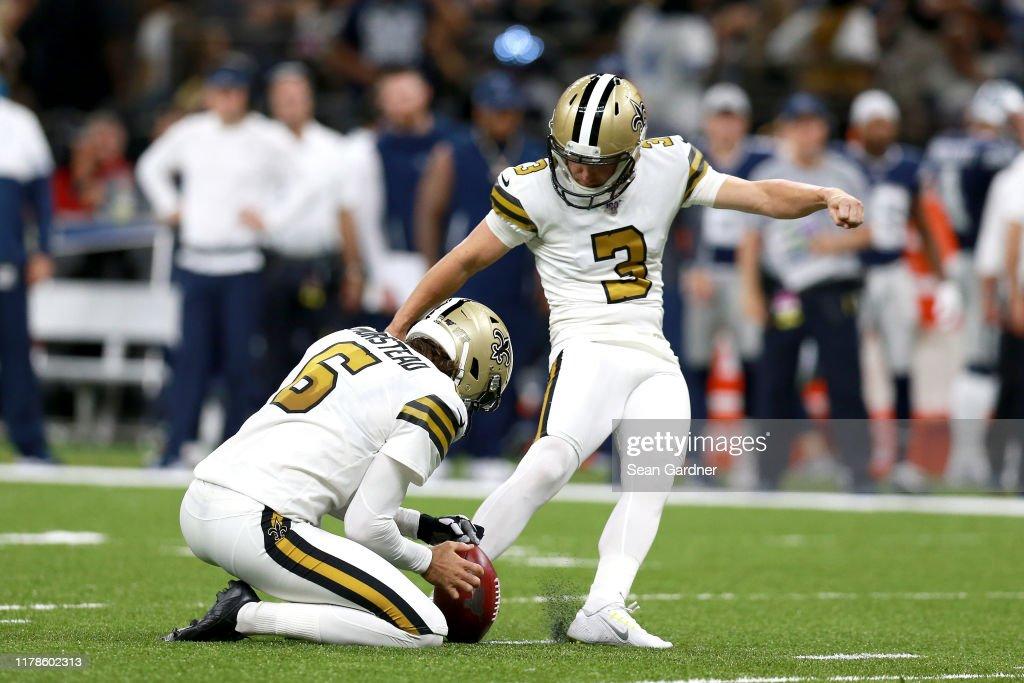 Dallas Cowboys vNew Orleans Saints : ニュース写真