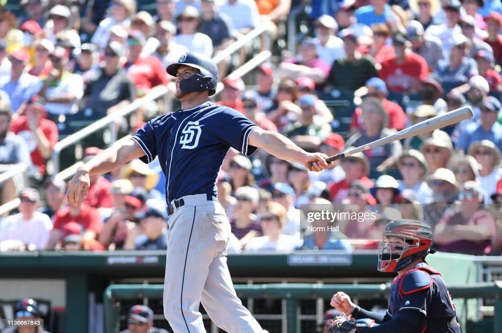 San Diego Padres v Cleveland Indians : News Photo