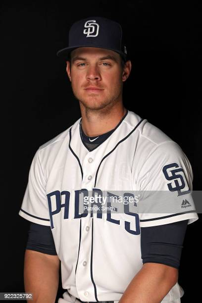 Wil Myers of the San Diego Padres poses on photo day during MLB Spring Training at Peoria Sports Complex on February 21 2018 in Peoria Arizona