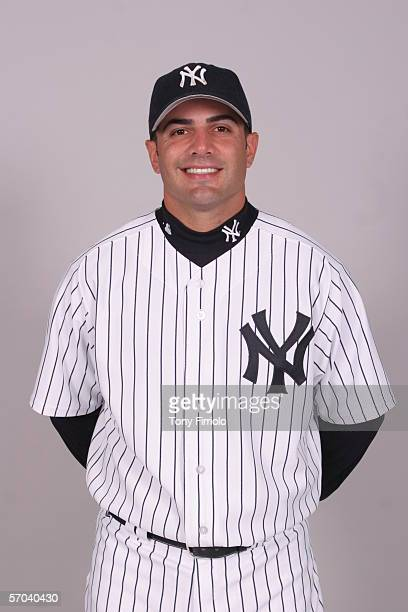 Wil Nieves of the New York Yankees during photo day at Legends Field on February 24 2006 in Tampa Florida