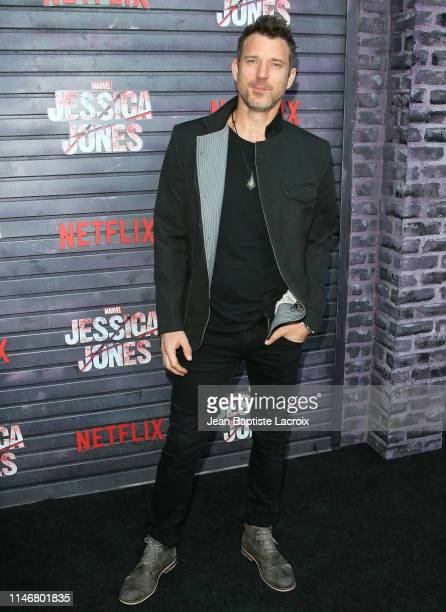Wil Traval attends a special screening of Netflix's Jessica Jones Season 3 at Arclight Cinemas on May 28 2019 in Los Angeles California