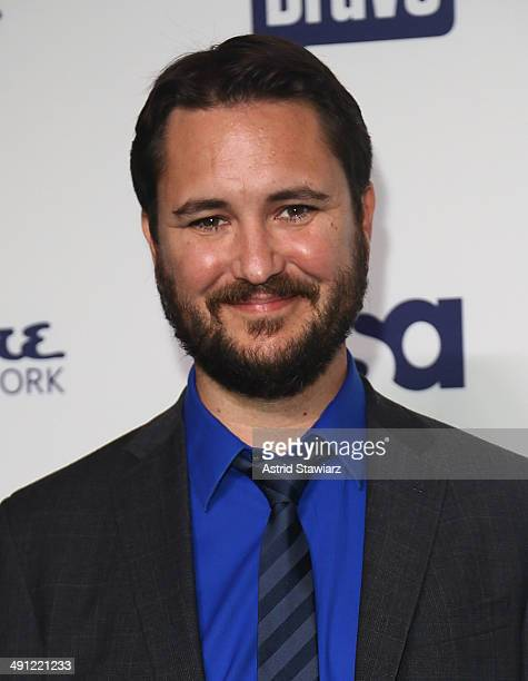 Wil Wheaton attends the 2014 NBCUniversal Cable Entertainment Upfronts at The Jacob K Javits Convention Center on May 15 2014 in New York City