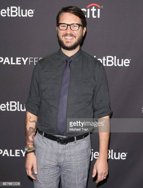 Wil Wheaton attends the 2018 PaleyFest Los Angeles Netflix's 'Stranger Things' held at Dolby Theatre on March 25 2018 in Hollywood California