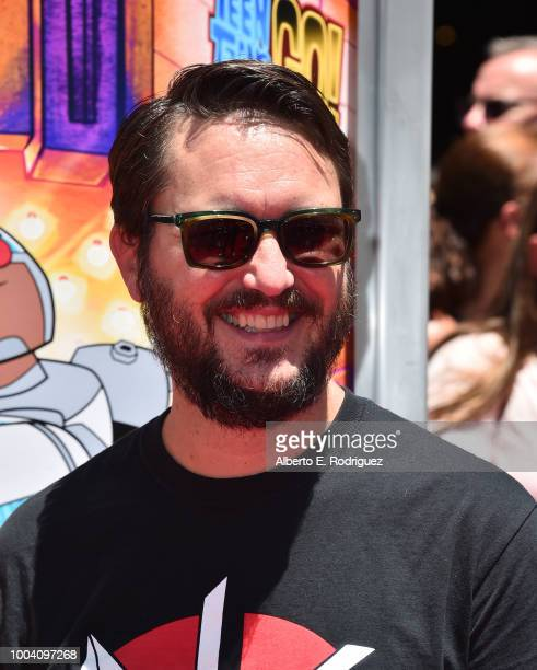 Wil Wheaton attends the premiere of Warner Bros Animation's Teen Titans Go To The Movies at TCL Chinese Theatre IMAX on July 22 2018 in Hollywood...