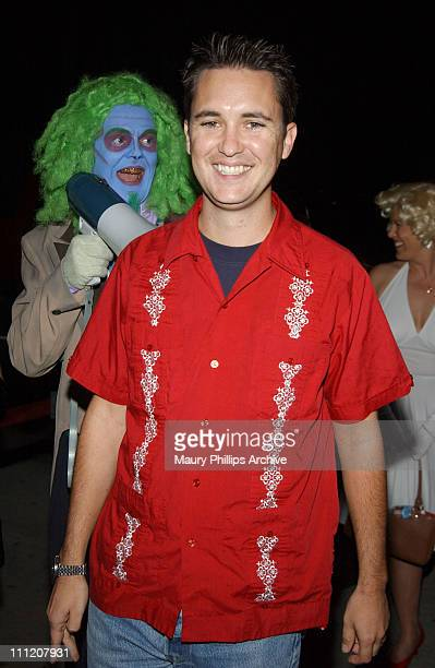 Wil Wheaton during Uncle Davvers Really Scary Movie Show World Premiere at Silent Movie Theater in Hollywood California United States