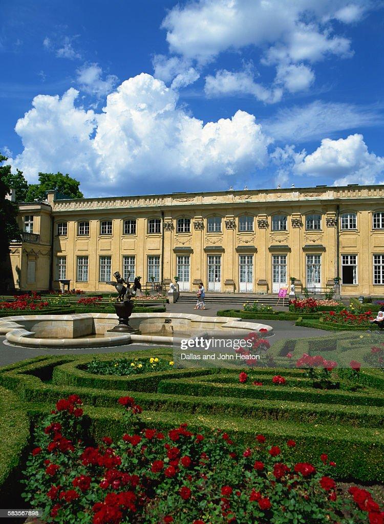 Wilanow Palace, Warsaw, Poland : Stock Photo