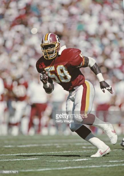 Wilber Marshall Linebacker for the Washington Redskins during the National Football Conference East game against the Arizona Cardinals on 25...