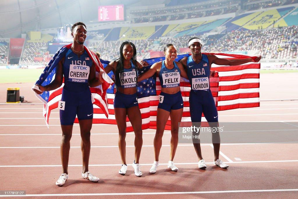 17th IAAF World Athletics Championships Doha 2019 - Day Three : ニュース写真