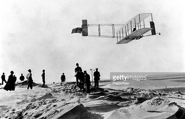 Wilbur and Orville Wright USA They became the first to fly an heavier than air machine on 17th December 1903 Orville Wright was born in 1871 and died...