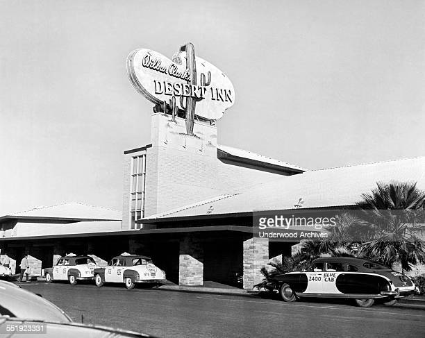 Wilbur Clark's Desert Inn, Las Vegas, Nevada, circa 1952.