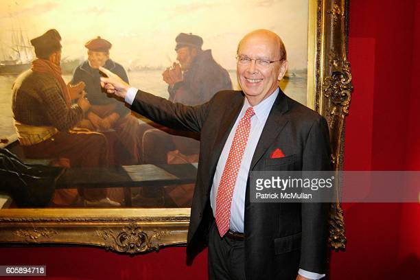Wilbur Ross attends The Time Machine A LENOX HILL NEIGHBORHOOD HOUSE Art Antiques Show Preview at The Seventh Regiment Armory on April 27 2006 in New...
