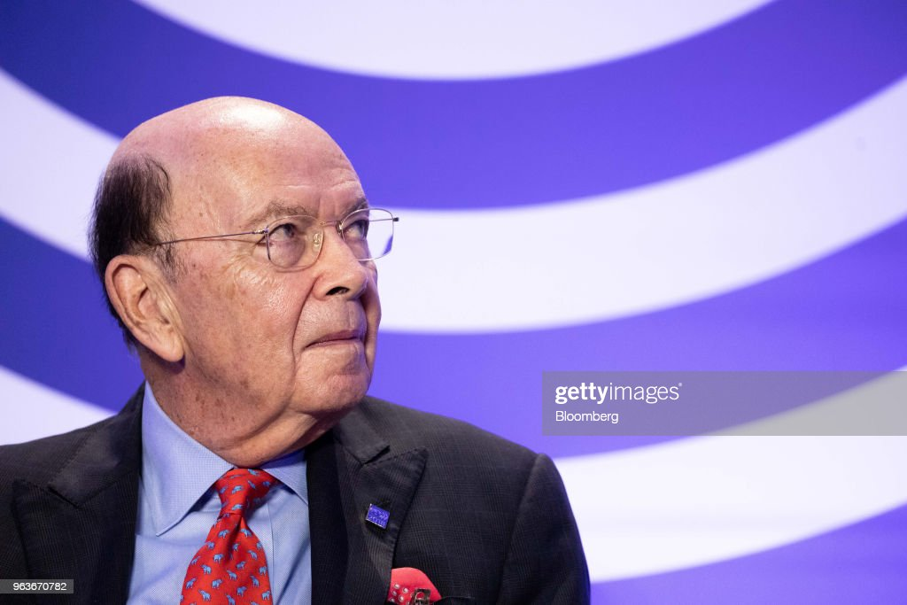 Wilbur Ross, U.S. commerce secretary, looks on during a panel discussion at the Organisation for Economic Co-operation and Development (OECD) forum in Paris, France, on Wednesday, May 30, 2018. European Union (EU) Trade Commissioner Cecilia Malmstrom is due to discuss steel and aluminium tariffs with Ross during today's event. Photographer: Christophe Morin/Bloomberg via Getty Images