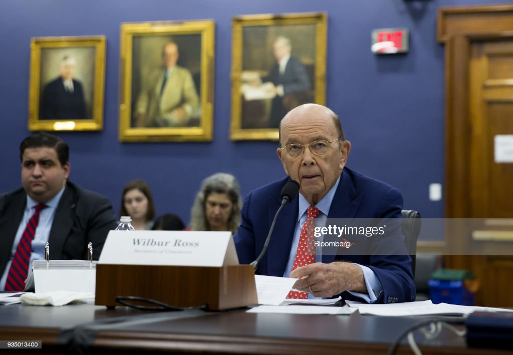 Commerce Secretary Wilbur Ross Testifies To House Appropriations Subcommittee On Budget