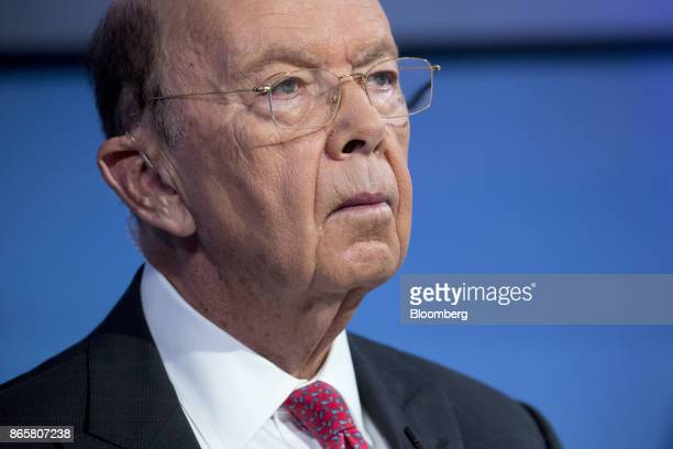 Wilbur Ross US commerce secretary waits to begin a Bloomberg Television interview in Washington DC US on Tuesday Oct 24 2017 Ross discussed corporate...