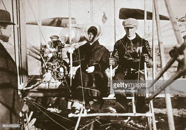 Wilbur Wright American aviator and his sister Katherine 1909 Wilbur Wright and his brother Orville were American inventors of aircraft They...