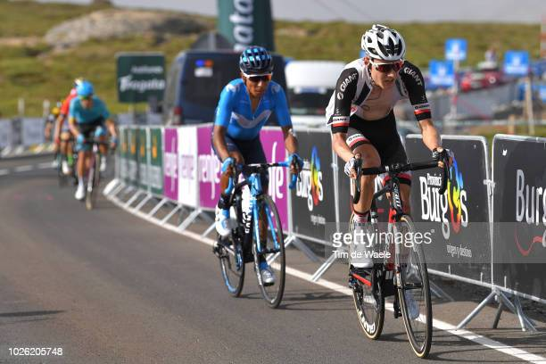 Wilco Kelderman of The Netherlands and Team Sunweb / Nairo Quintana of Colombia and Movistar Team / during the 73rd Tour of Spain 2018, Stage 9 a...