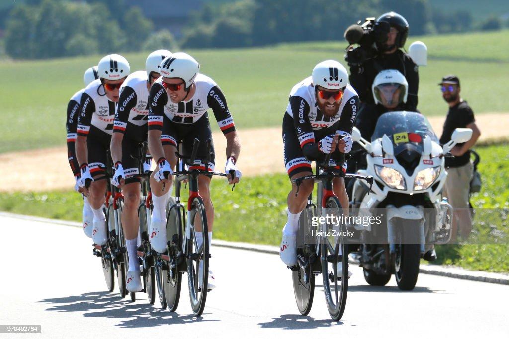 Cycling: 82nd Tour of Switzerland 2018 / Stage 1 : Nachrichtenfoto